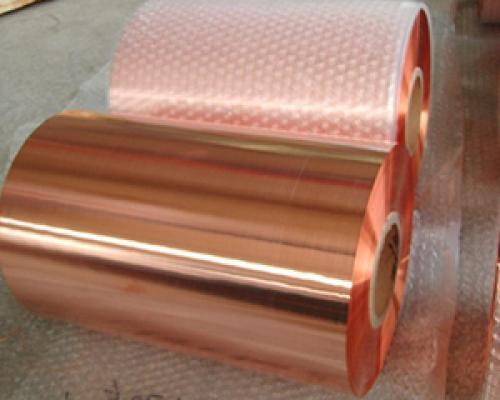 电镀铜钢板